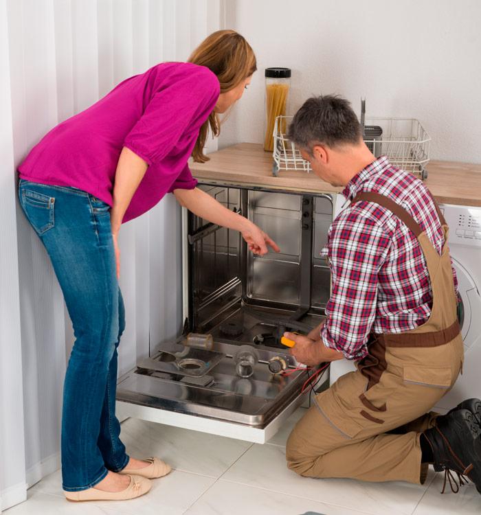 Reparação de máquinas de lavar loiça ao domicílio em Olivais aos melhores preços